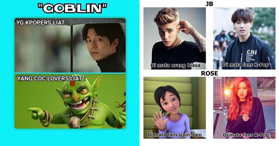 14 Meme 'beda fans K-Pop vs orang biasa' ini kocaknya bikin gemes