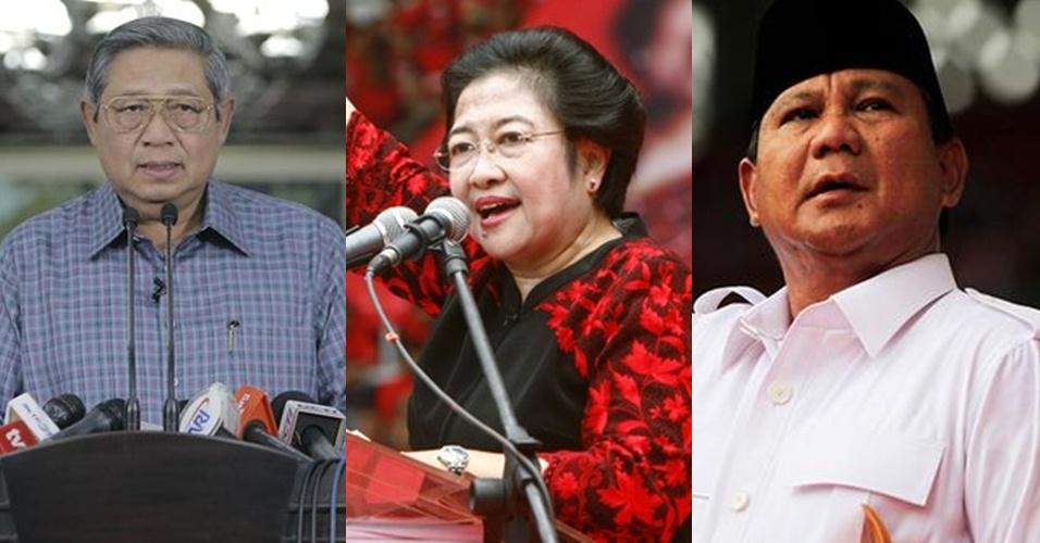 Ini beda gaya SBY, Mega dan Prabowo dukung calonnya di Pilkada DKI
