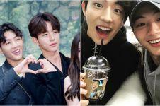 10 Potret bromance Nam Joo-hyuk dan Jisoo ini bikin cewek gagal fokus