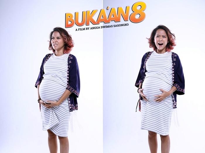Perankan ibu hamil, Lala Karmela sampai belajar sakitnya kontraksi lho