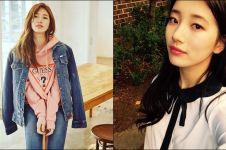 Dikenal cantiknya natural, ini 13 foto Suzy 'Miss A' pacar Lee Min-ho