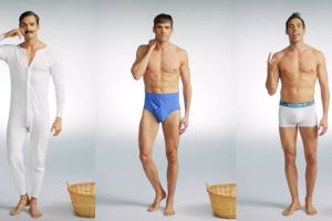 Ini 11 foto transformasi celana dalam pria sejak 100 tahun lalu