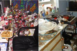 14 Foto bukti rumah ini isinya jorok banget, bikin mual-mual