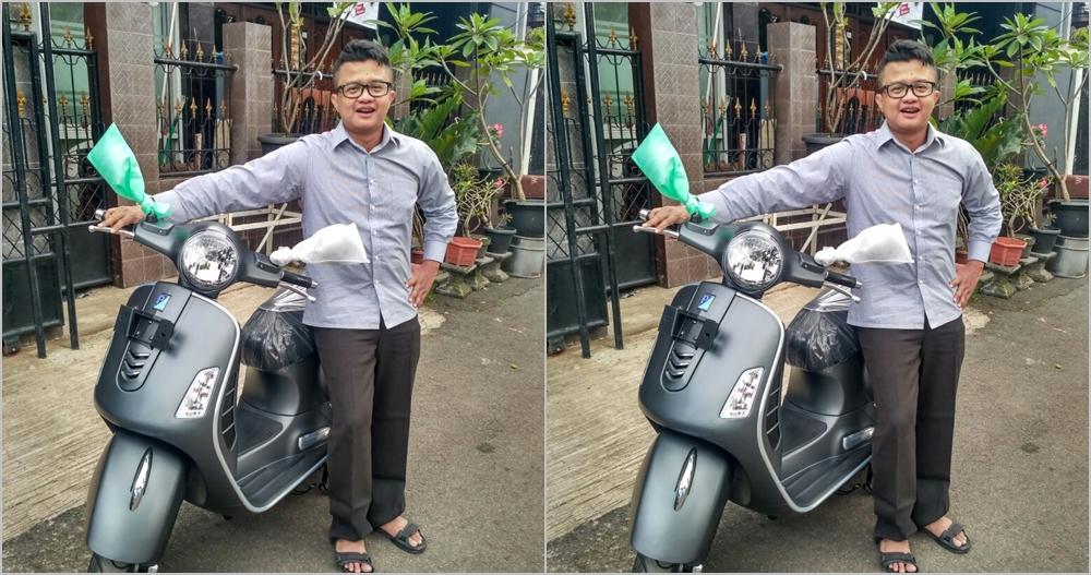 Kisah Windra keliling Jakarta 4 hari 4 malam demi Vespa Rp 40 jutaan