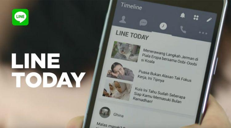 Begini cara LINE mengembangkan fitur LINE Today tanpa berita hoax