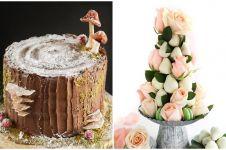15 Kue bentuknya perfect abis, jadi sayang buat memakannya