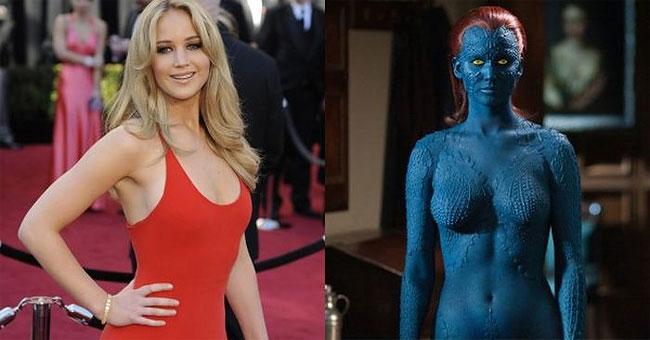 24 Foto transformasi makeup bintang Hollywood ini bikin pangling