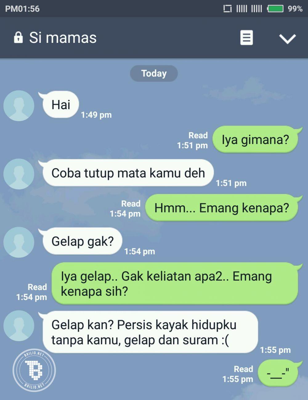 Kumpulan Gambar Cara Chat Lucu Pdkt