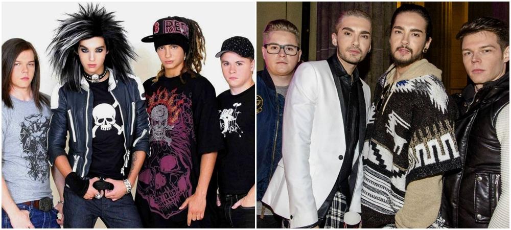 perubahan rock star saat debut vs sekarang © 2017 berbagai sumber
