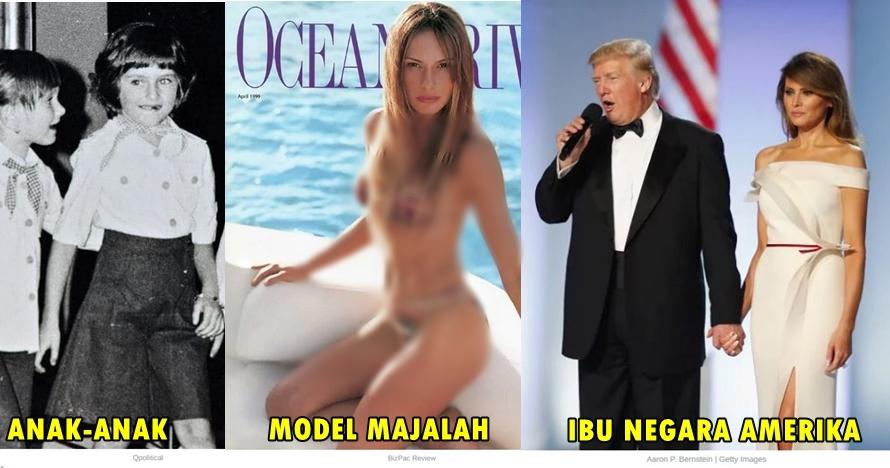 15 Gaya busana Melania Trump, dari model hot majalah hingga ibu negara