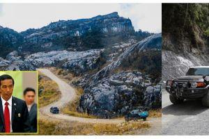 8 Foto penampakan jalan Trans Papua, proyek prestisius era Jokowi