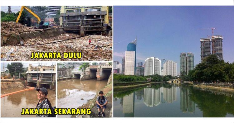 15 Potret ini tunjukkan beda Jakarta dulu vs kini, makin rapi & bersih