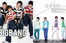 Perubahan 7 boyband Korea dari debut vs sekarang, makin keren nggak ya