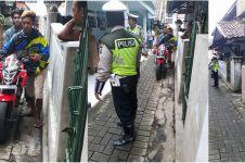 Kabur saat hendak ditilang, 2 pemuda ini tertimpa sial usai masuk gang