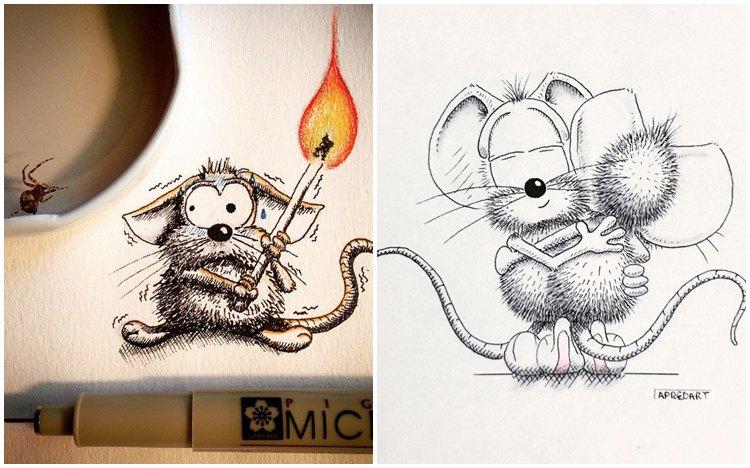 15 Gambar tikus berlagak bak manusia ini kerennya bikin gemas