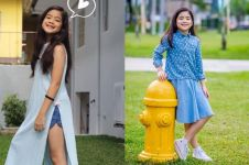 10 Gaya Niana Guerrero, dancer cilik yang viral karena aksi kerennya