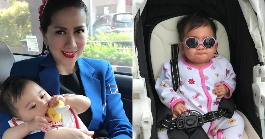 10 Foto menggemaskan Vania Athabina, bayi yang diadopsi Venna Melinda