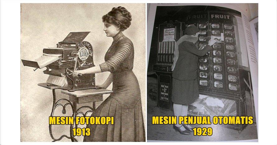 14 Foto teknologi retro buktikan iptek sudah berkembang sejak dulu