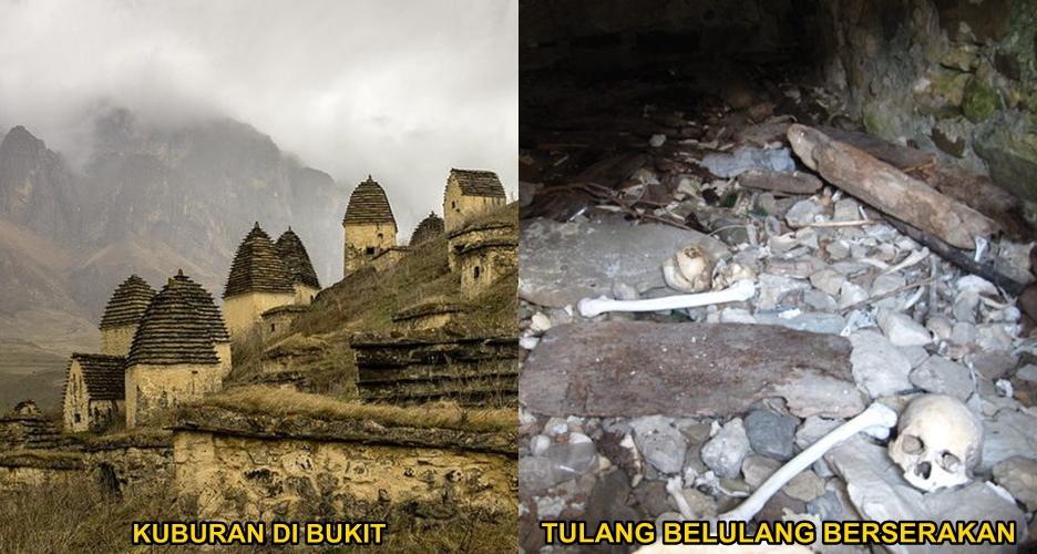 7 Foto pekuburan kuno di Rusia ini misterius banget