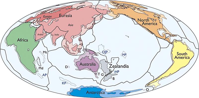 Ilmuwan ungkap keberadaan benua baru bernama Zealandia