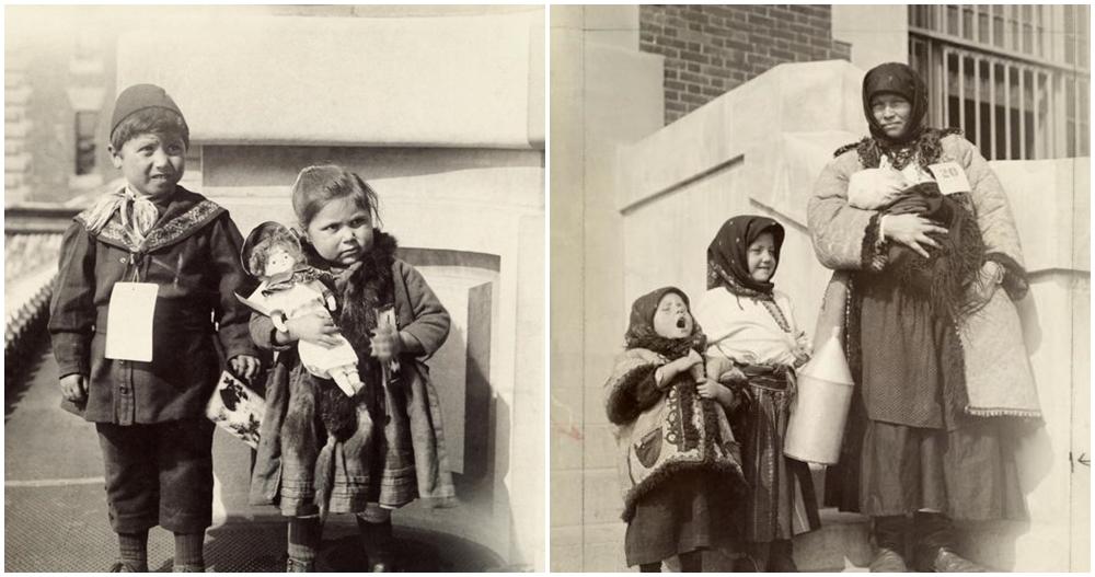 Terungkap, 14 potret sedih imigran Amerika Serikat 100 tahun lalu