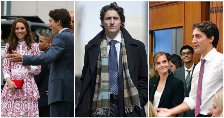 9 Foto ini tunjukkan tak ada yang bisa nolak pesona Justin Trudeau