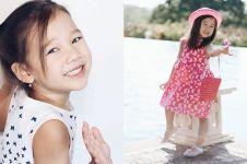 16 Potret Kiyomi, anak Irfan Bachdim yang stylish abis