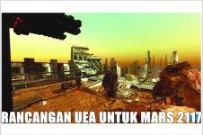 Wow, Uni Emirat Arab akan bangun kota di Mars pada 2117