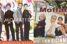 Transformasi The Moffatts, band 90an yang bakal konser di Indonesia