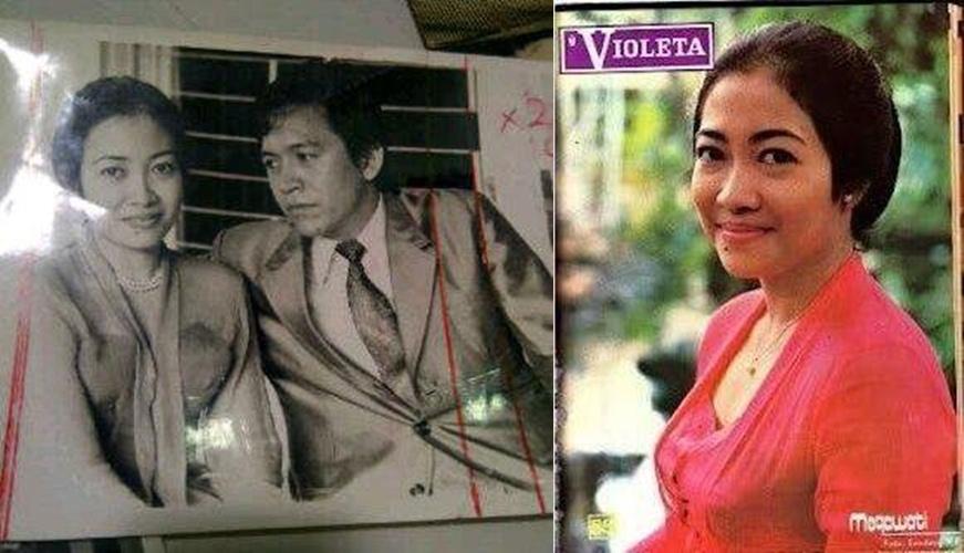 10 Foto Megawati dari masa kecil sampai sekarang, cantik sejak muda