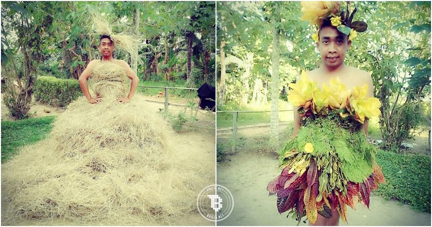 16 Gaun cetar Mimi Peri ini kreatif abis, tapi bikin susah nahan tawa