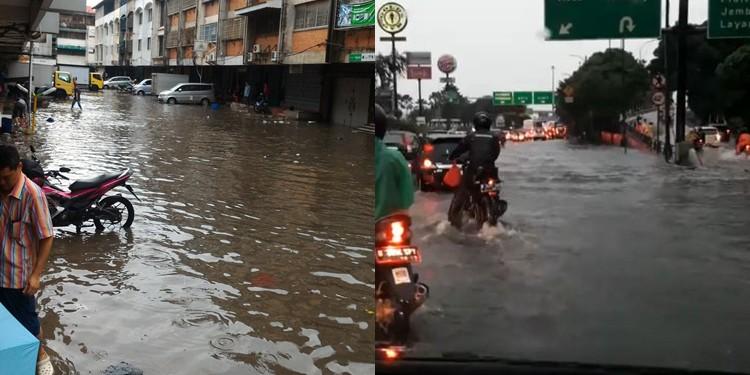 Ini 54 titik banjir di Jakarta, ketinggian 20-150 cm