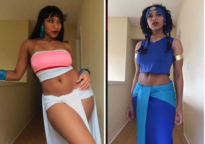 15 Transformasi cosplayer kulit hitam ini hasilnya bikin melongo