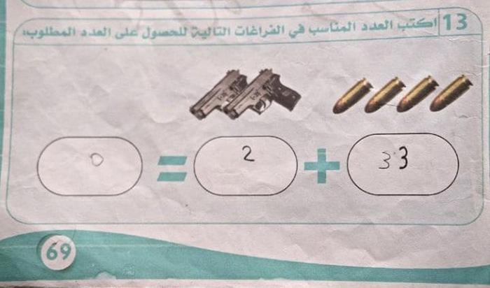8 Soal Matematika yang diajarkan ISIS pada anak-anak, ngeri banget