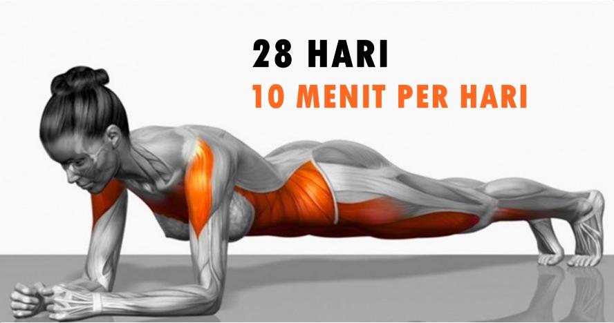 7 Olahraga sederhana yang bisa ubah bentuk tubuh hanya dalam 4 minggu