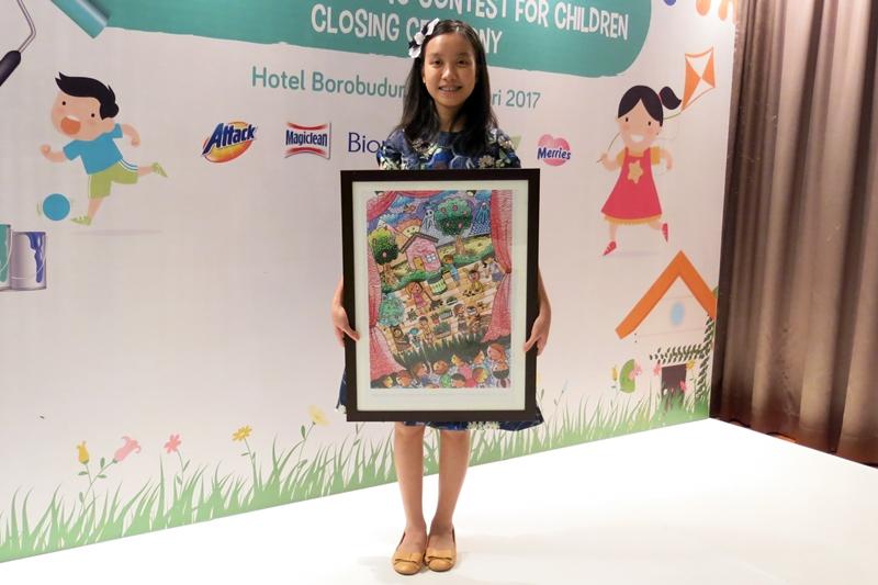 6 Anak Indonesia juara lomba lukis lingkungan internasional, keren ya