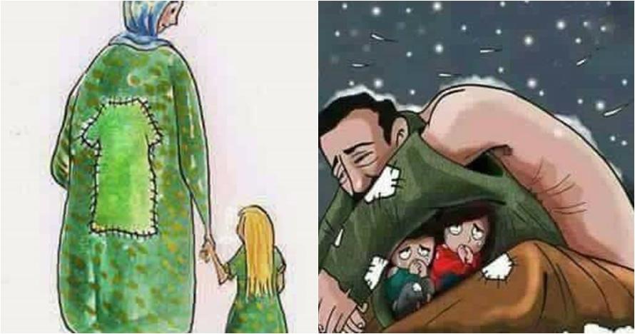 10 Ilustrasi pengorbanan orangtua untuk anaknya ini sumpah bikin mewek