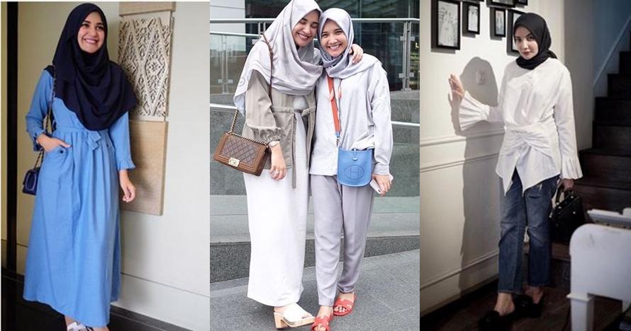 Sama-sama stylish, ini beda harga tas Zaskia & Shireen Sungkar