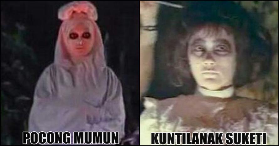 5 Ikon hantu paling legendaris di film Indonesia, siapa paling serem?