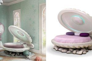Tempat tidur ala mermaid ini dibanderol dengan harga Rp 213 juta, wow!