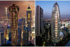 9 Desain gedung pencakar langit ini keren kelewat batas, super banget