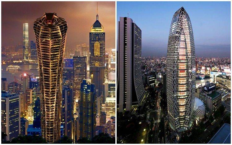 9 Desain Gedung Pencakar Langit Ini Keren Kelewat Batas Super Ba