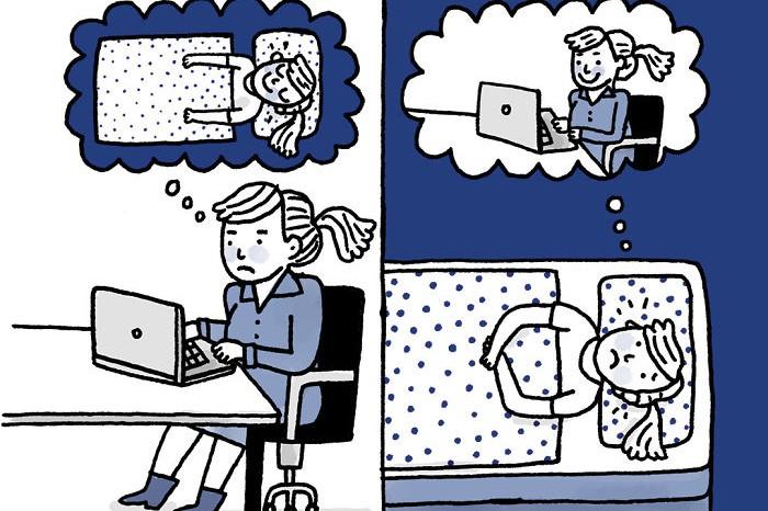 12 Ilustrasi karya seniman penderita depresi berlebihan ini jleb abis