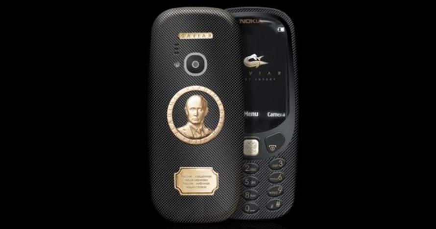 Nokia 3310 edisi Putin dijual 30 kali dari harga normal, apa hebatnya?