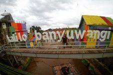 Nggak cuma Jogja & Malang, Kampung Warna Warni juga ada di Banyuwangi