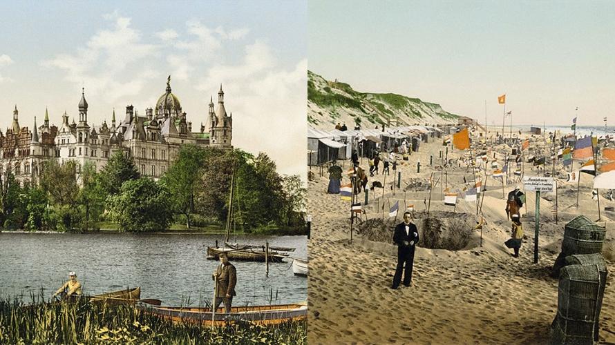 10 Foto lawas Jerman tahun 1900 sebelum PD I, bak negeri dongeng
