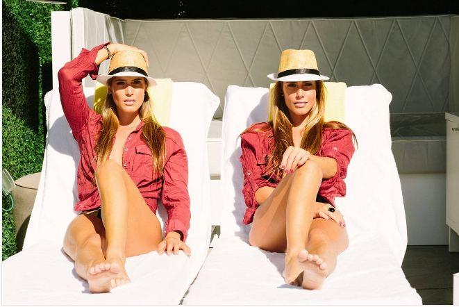 Bia dan Branca, si kembar atlet renang yang juga kompak jadi model