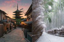 13 Foto ini bukti indahnya Kyoto nggak kalah sama Tokyo, keren abis