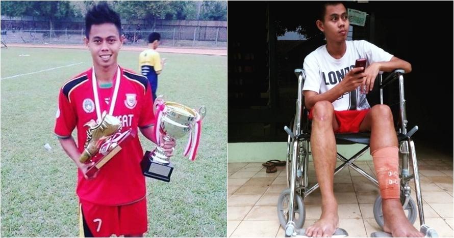 Sedih, pemain Divisi I jual sepatu emas untuk biaya pengobatan cedera