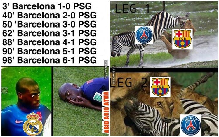 10 Meme kemenangan telak Barcelona yang bikin Cules kegirangan
